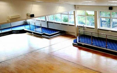 Refurbishment of parade hall at Lympstone Royal Marine Camp (CTCRM)