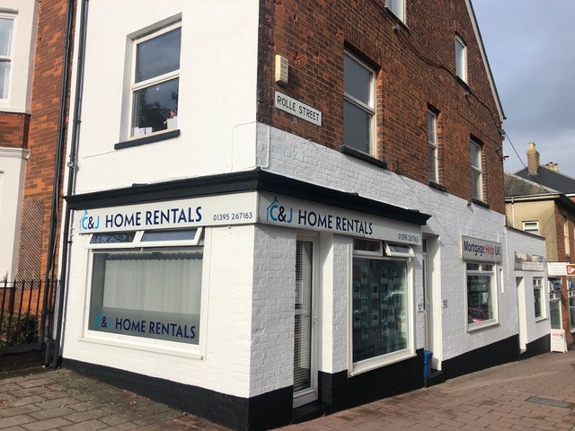 Office Exterior Decoration in Exmouth